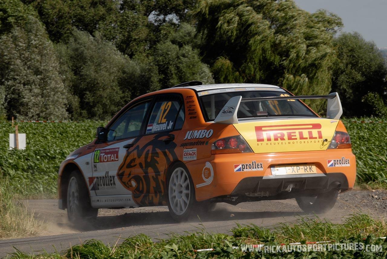 Jasper van den Heuvel Ypres Ieper Rally 2008