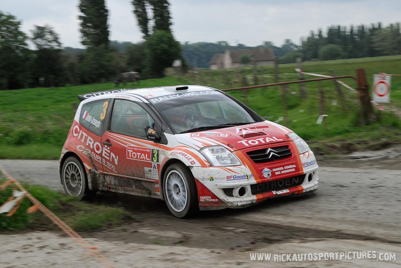 Simon Jean-Joseph Ypres rally 2007