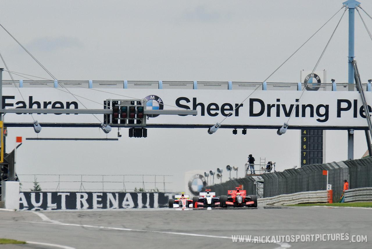 Jules Bianchi nurburgring 2012