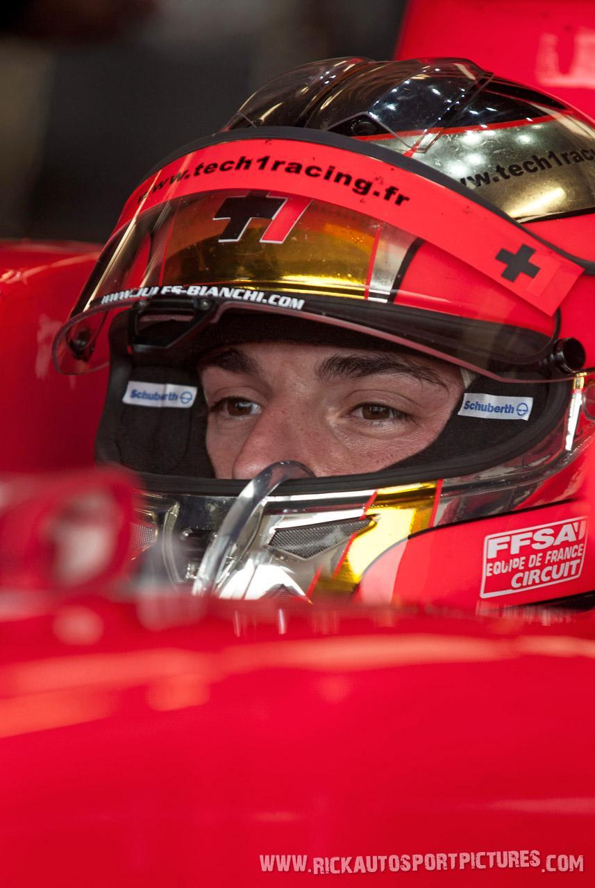 Jules Bianchi renault series silverstone 2012