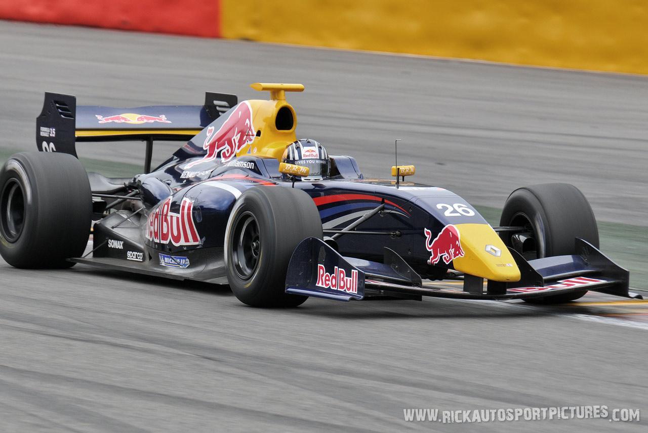 Lewis Williamson renault world series 2012