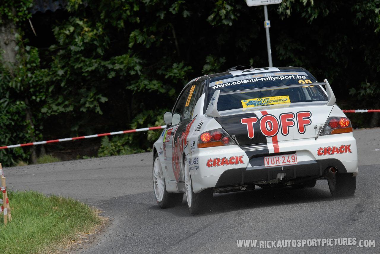 Paul Lietaer ieper rally 2008