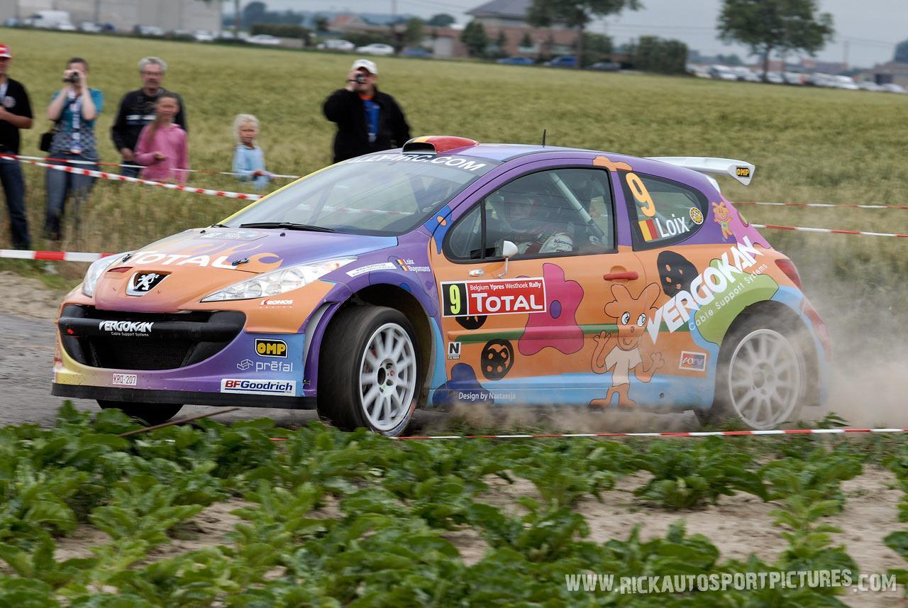 Freddy Loix Ypres Ieper Rally 2008
