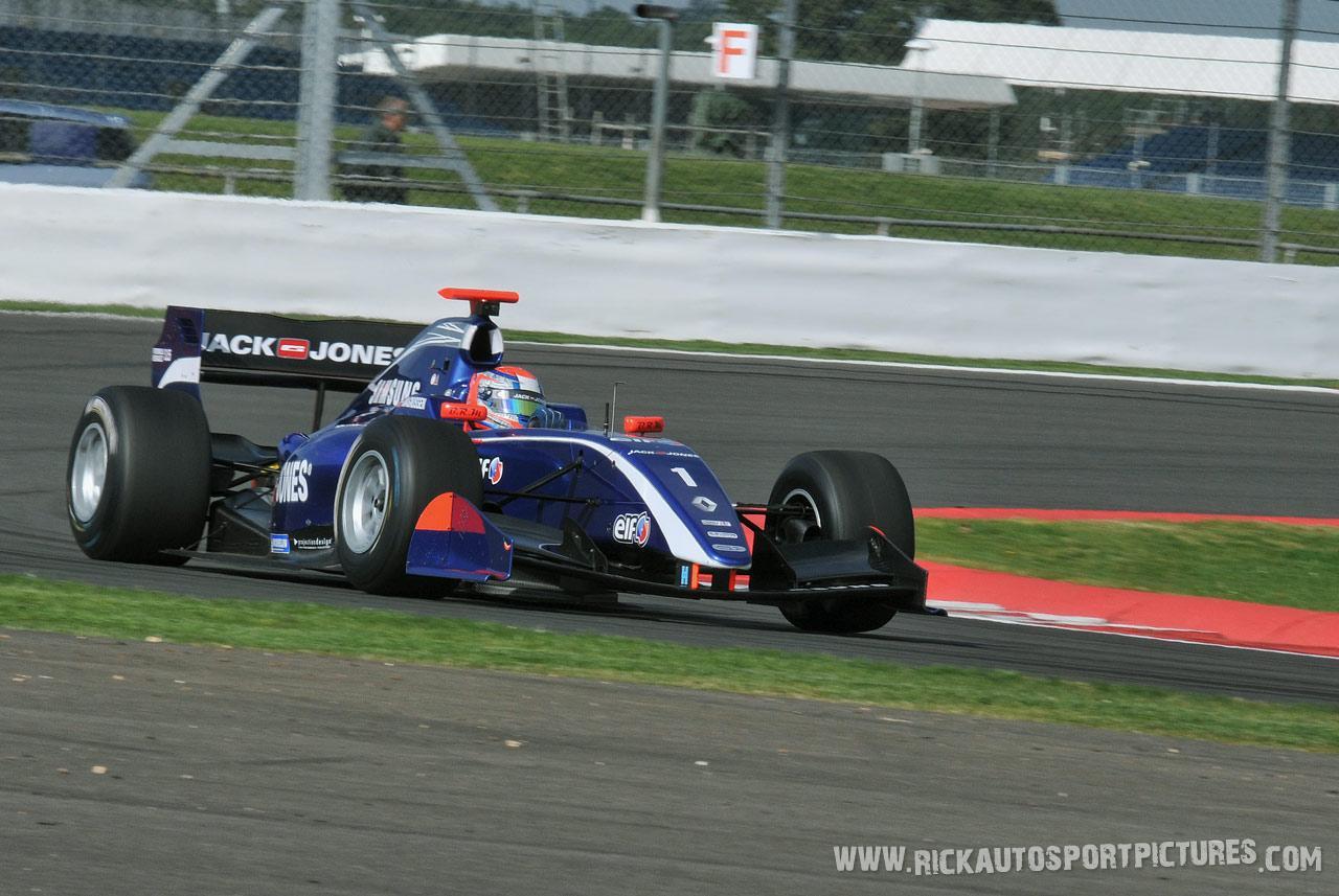 Kevin Magnussen renault series silverstone 2012