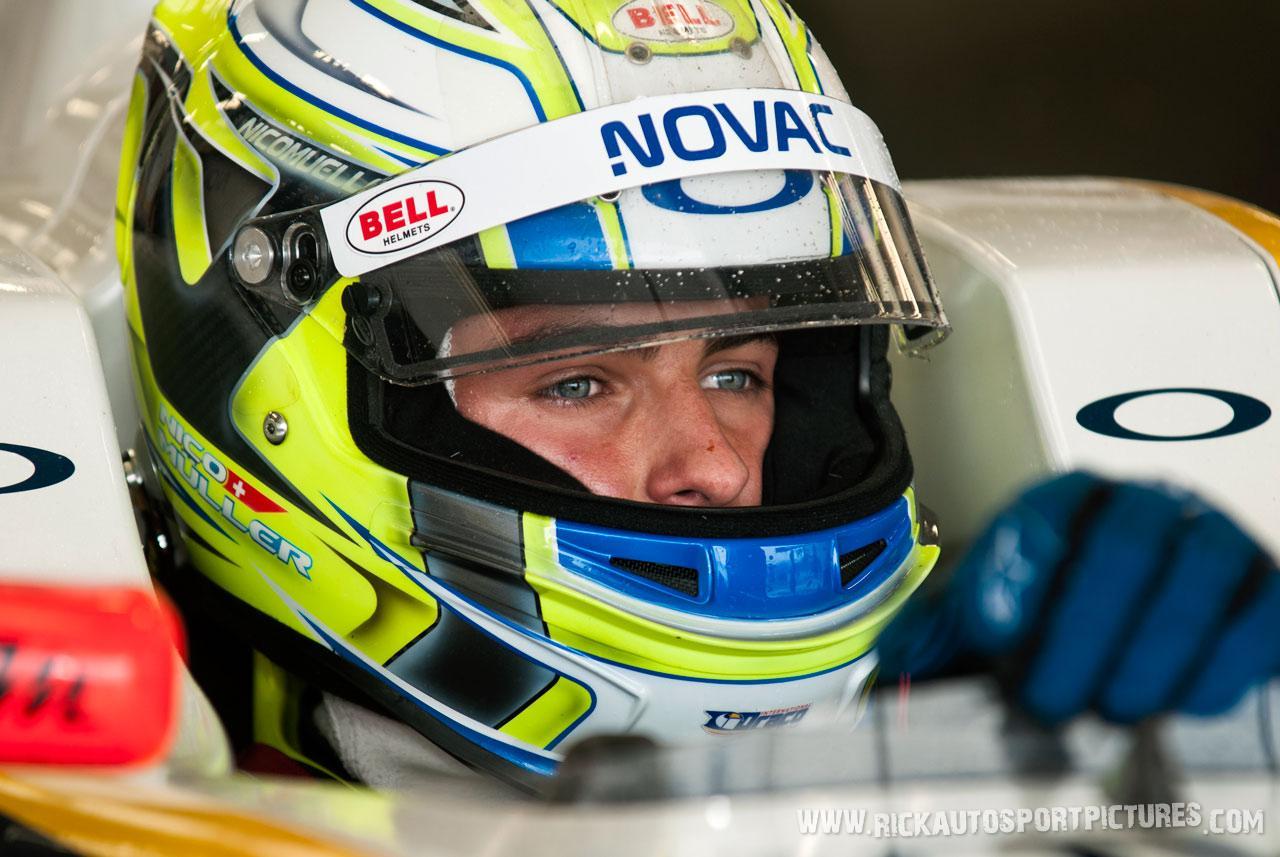 Nico Muller renault series silverstone 2012