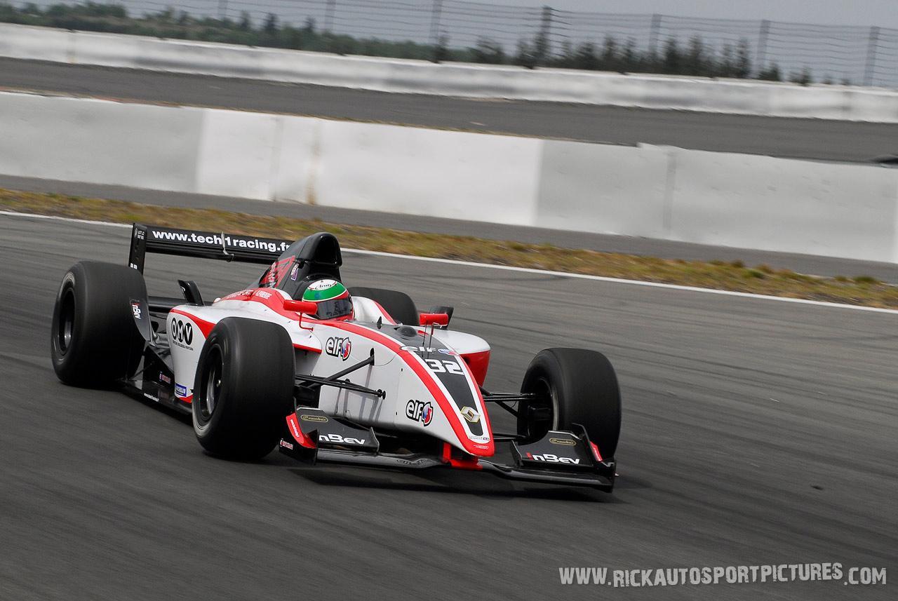 Alvaro Parente WSR Nurburgring 2007