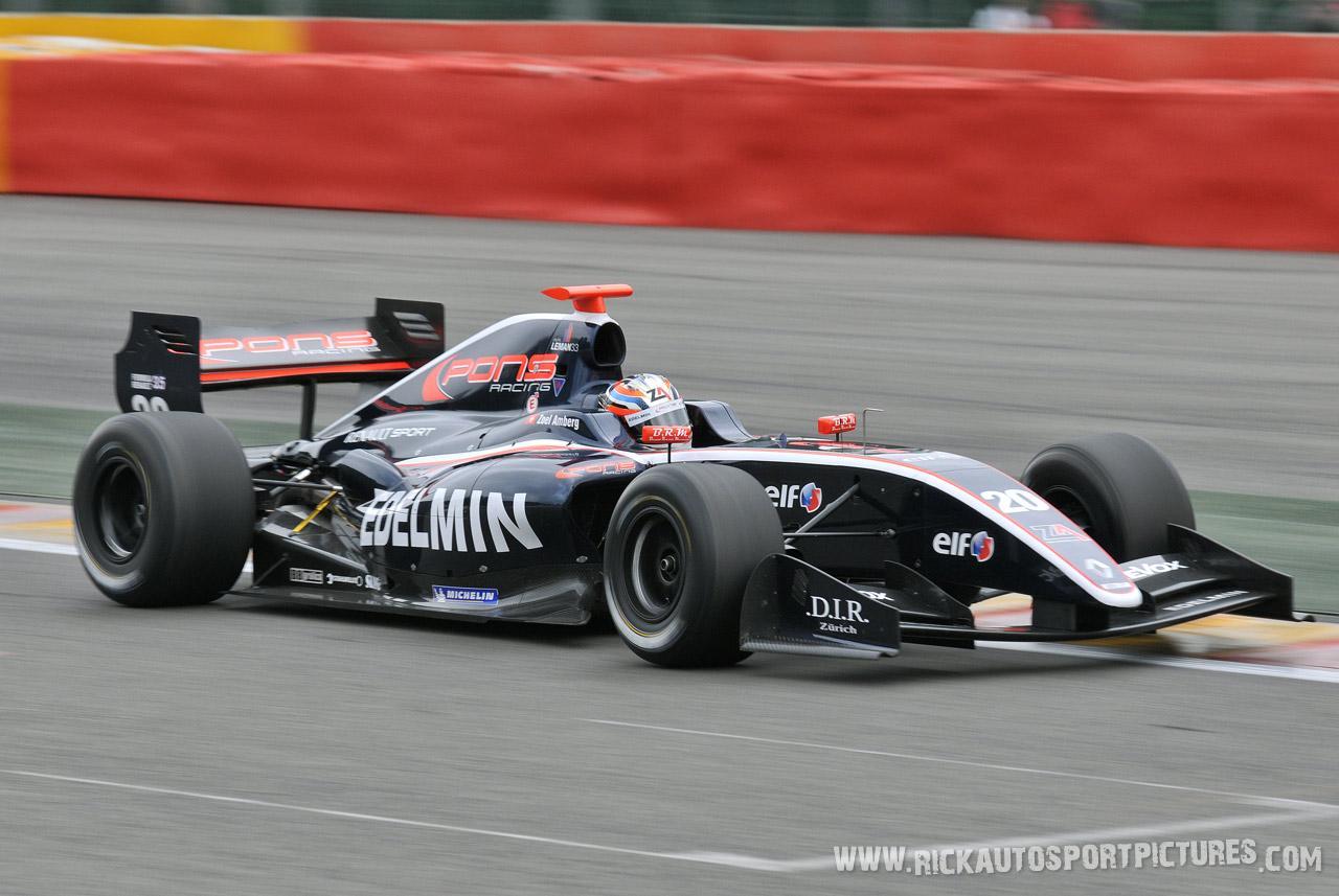 Joel Amberg renault world series 2012