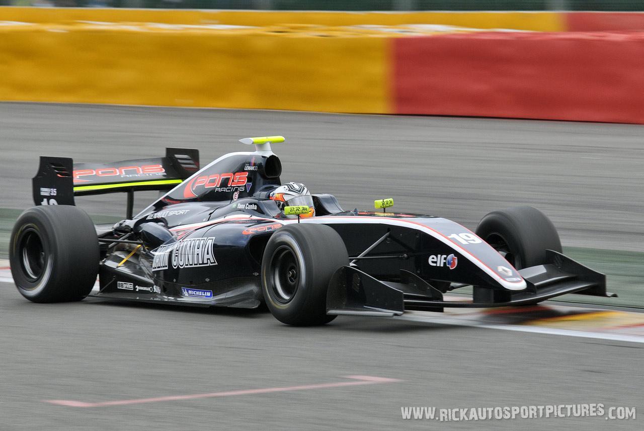 Yann Cunha renault world series 2012