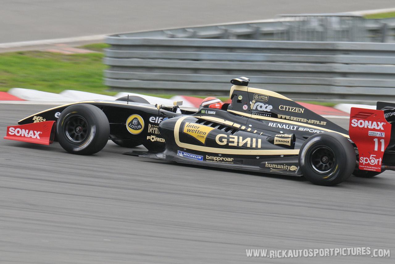 Cesar Ramos renault world series 2012