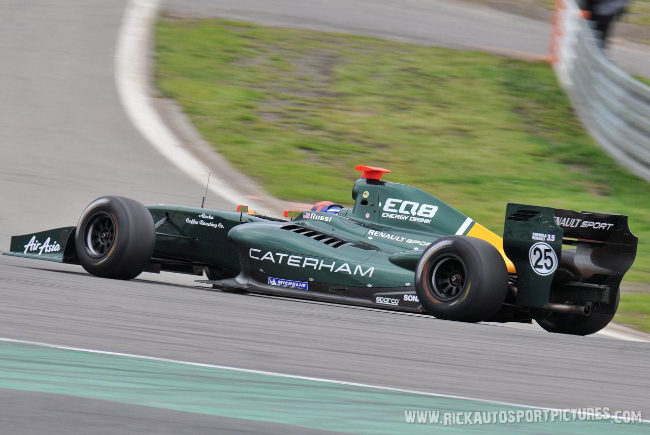 Alexander Rossi renault series europe 2012