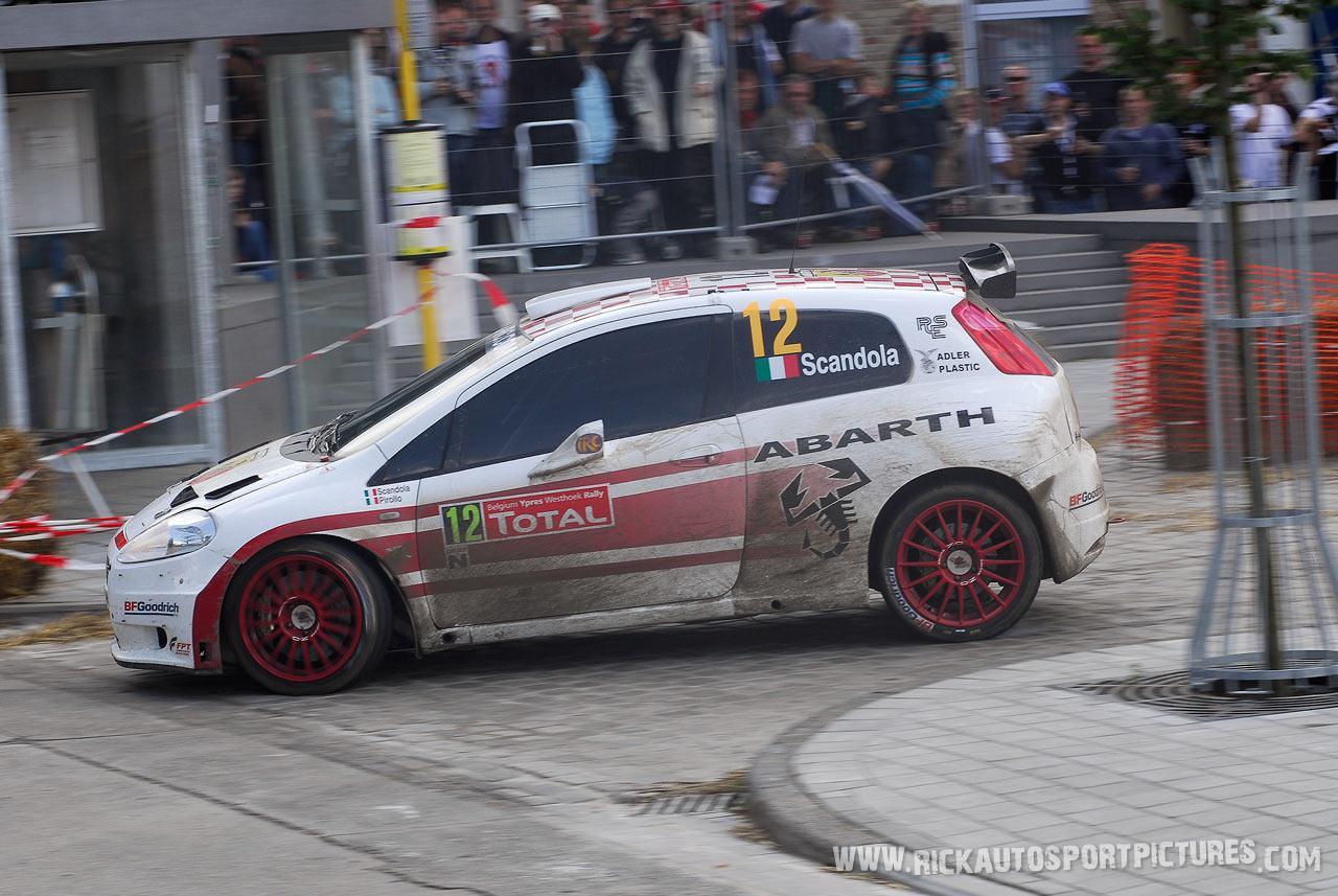 Umberto Scandola Ypres rally 2007