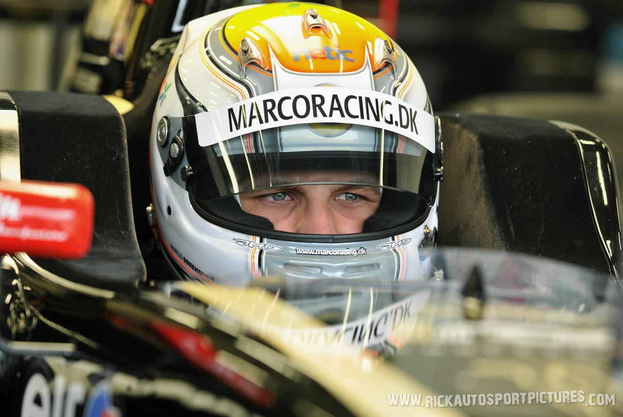 Marco sorensen renault series spa 2012