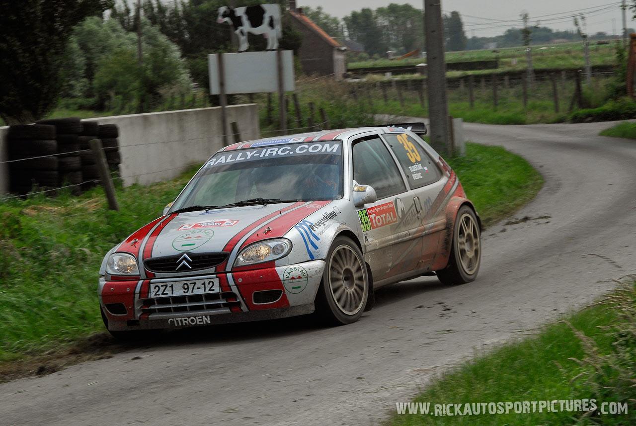 Antonin Tlustak Ypres Rally 2007