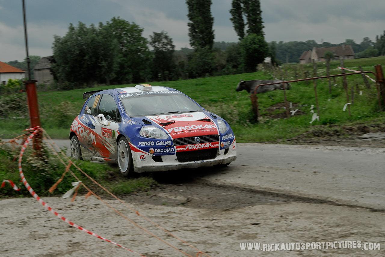 Pieter Tsjoen Ypres Ieper Rally 2007
