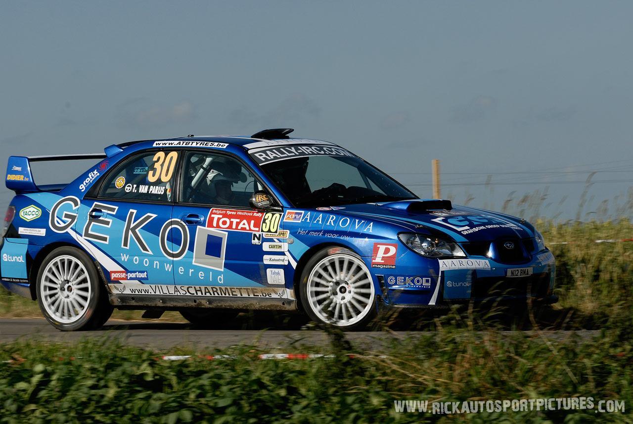 Timothy Van Parijs Ieper Rally 2008