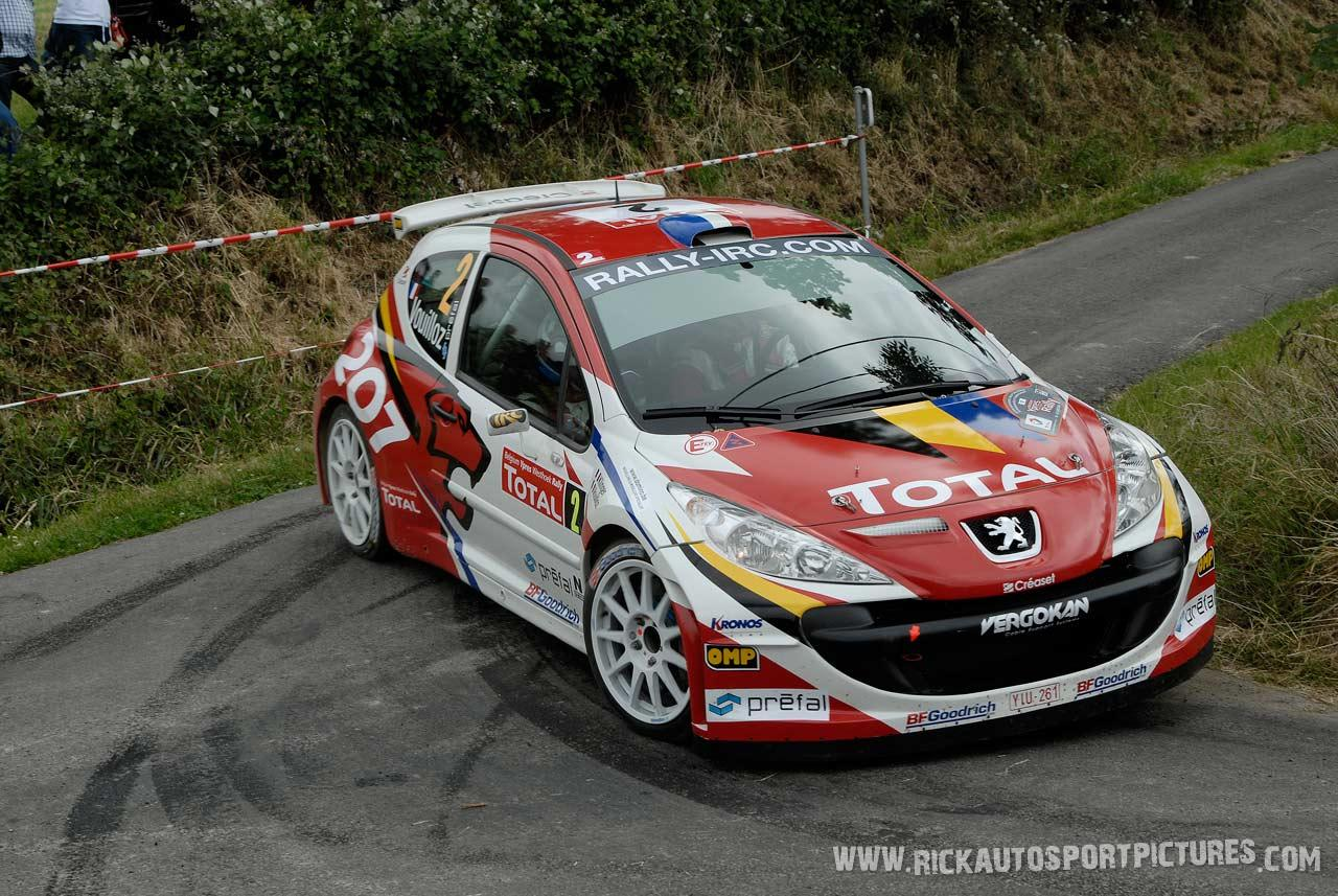 Nicolas Vouilloz Ypres Ieper Rally 2008