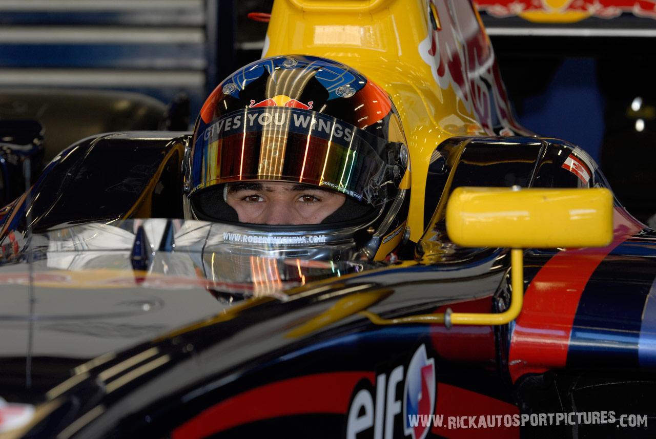 Robert Wickens renault world series 2008