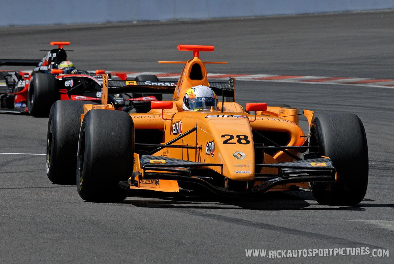 Claudio Cantelli renault series 2008