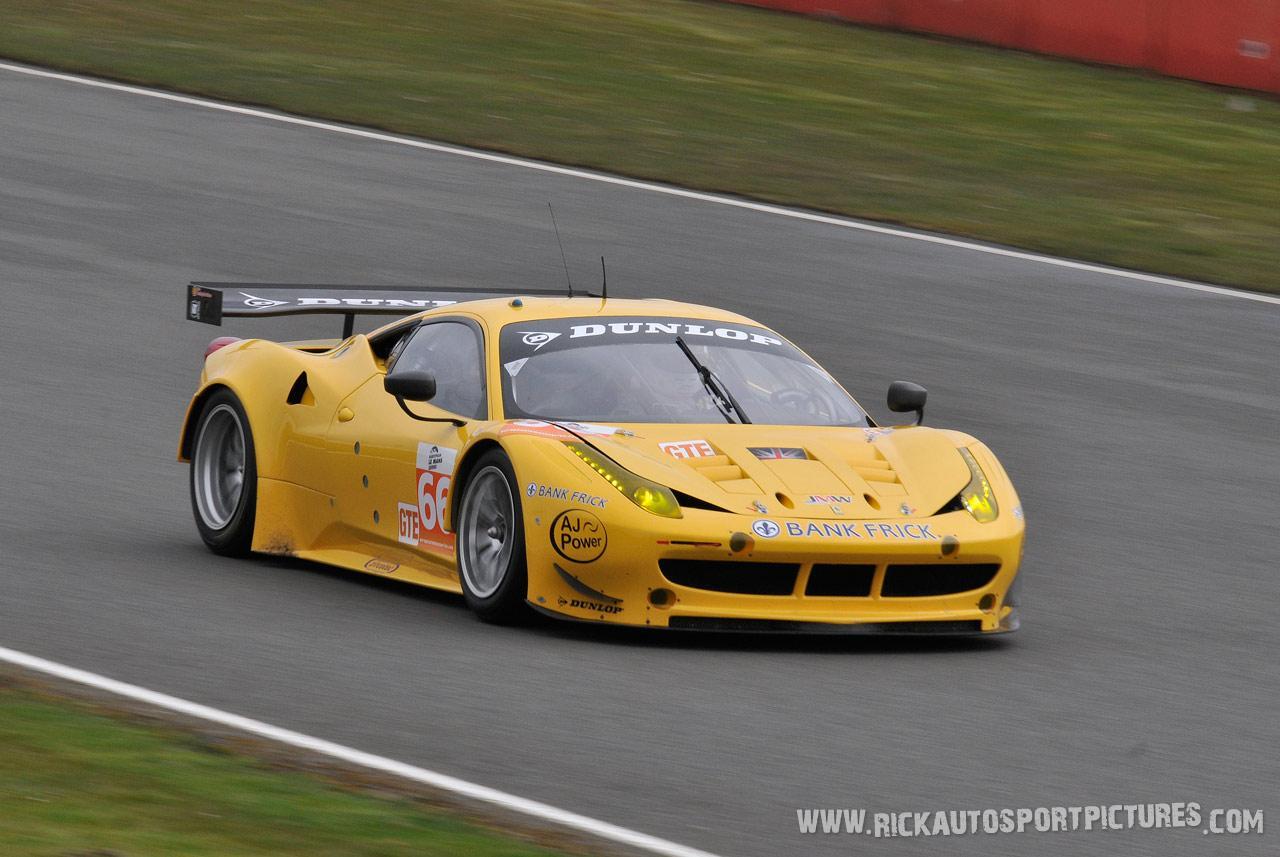 JMW Motorsport ELMS 2013