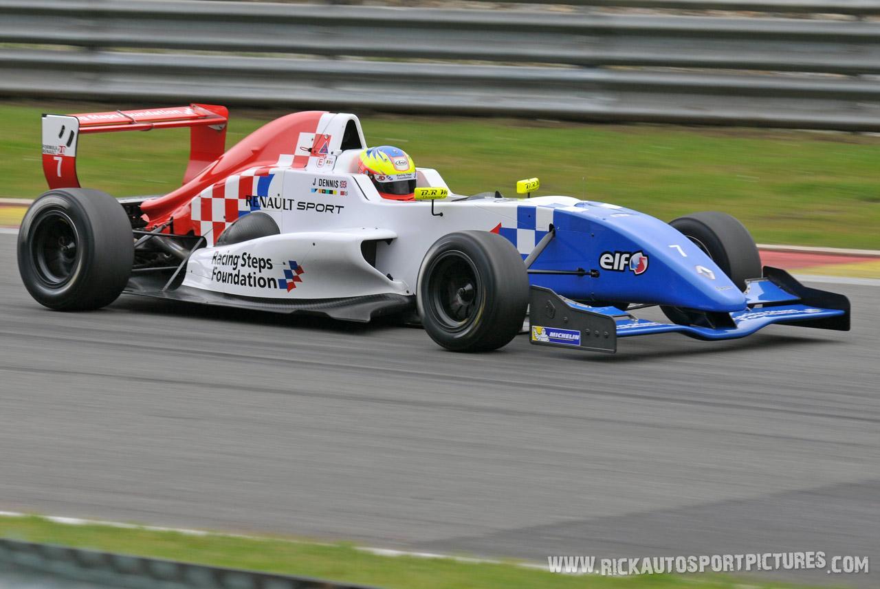 Jake Dennis formula renault 2.0 2013