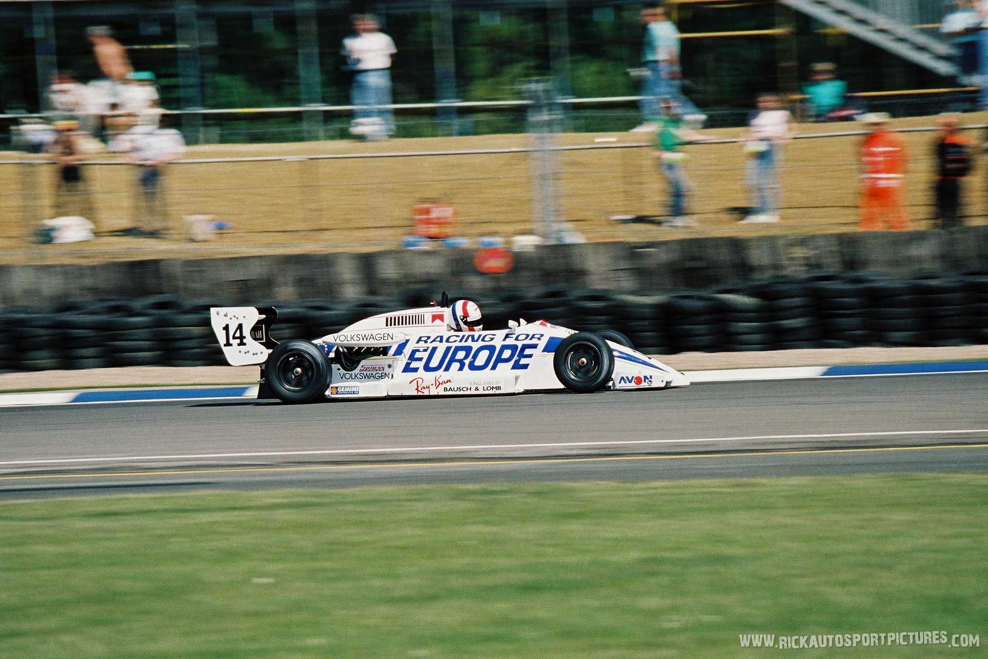 Peter Kox Bowman Racing 1990