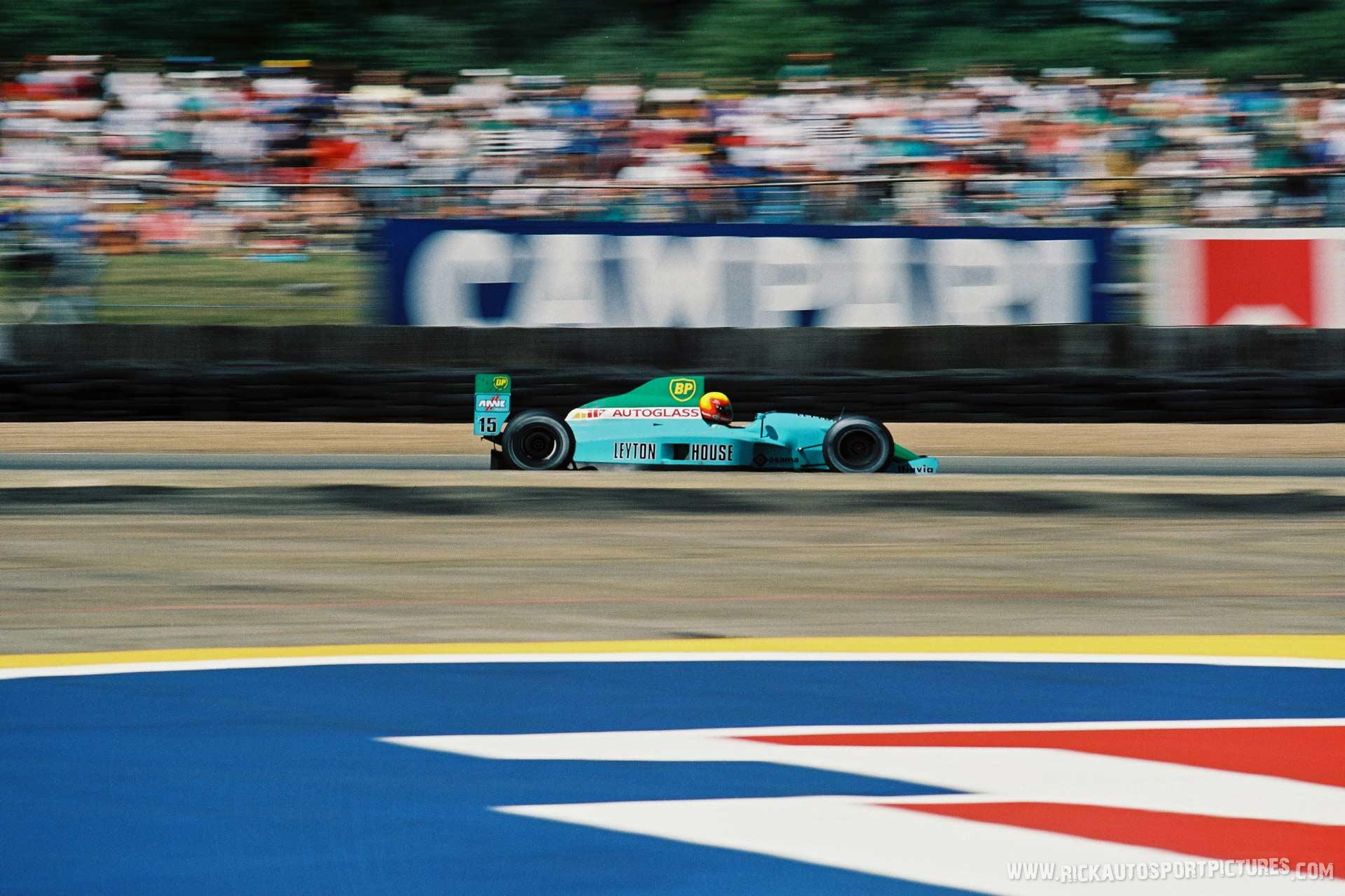 Mauricio Gugelmin Silverstone 1990