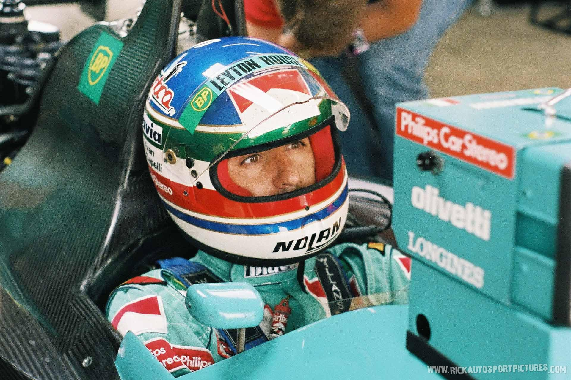 Ivan Capelli Silverstone 1989