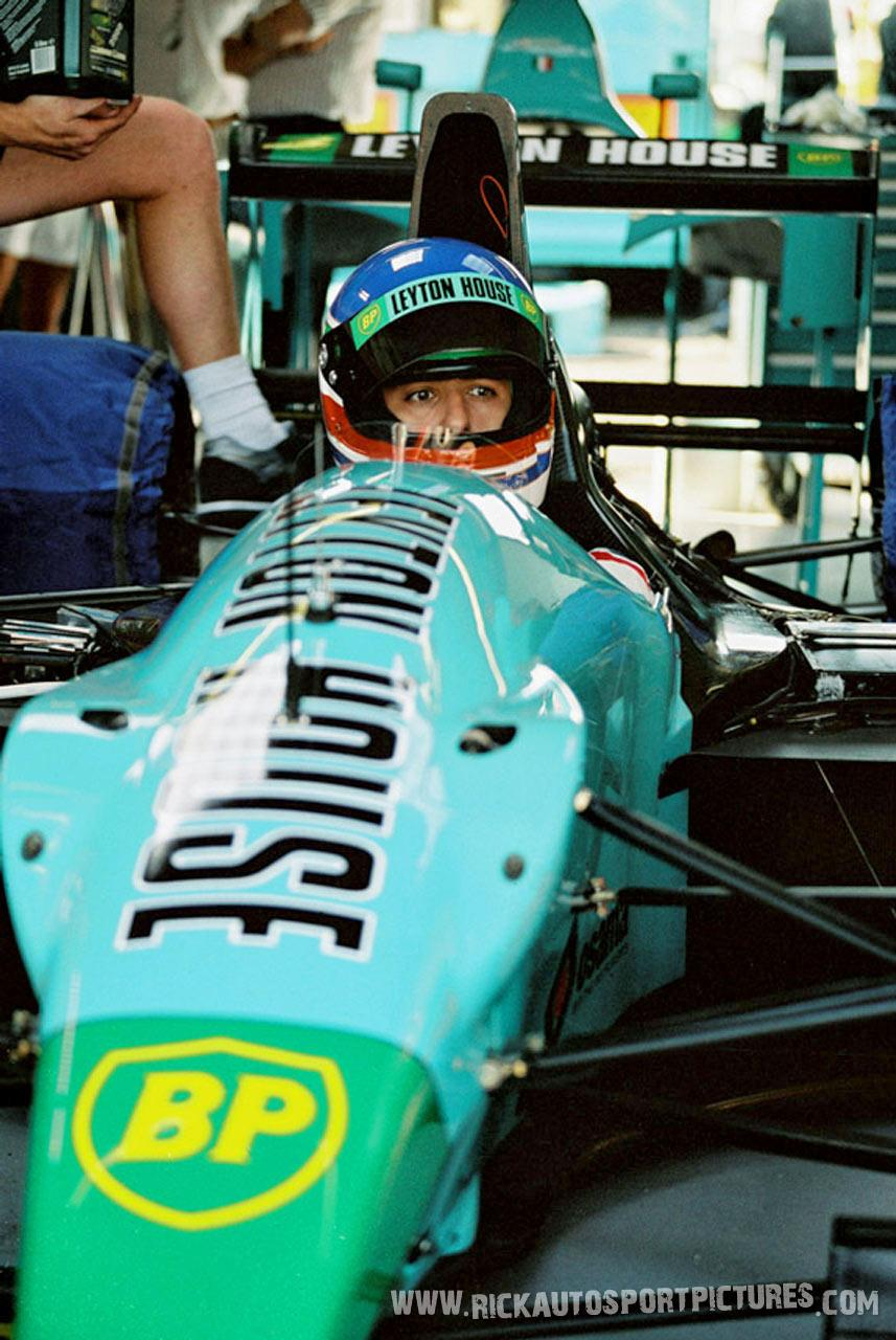 Ivan Capelli Silverstone 1990