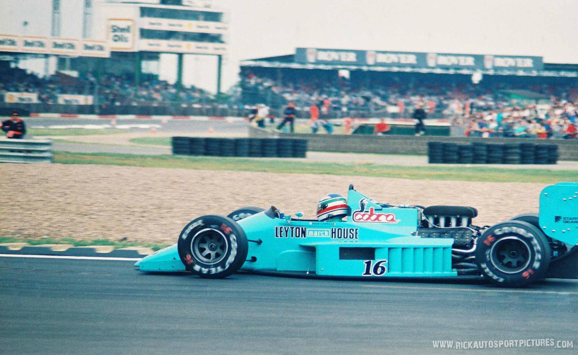 March 871 Ivan Capelli Silverstone