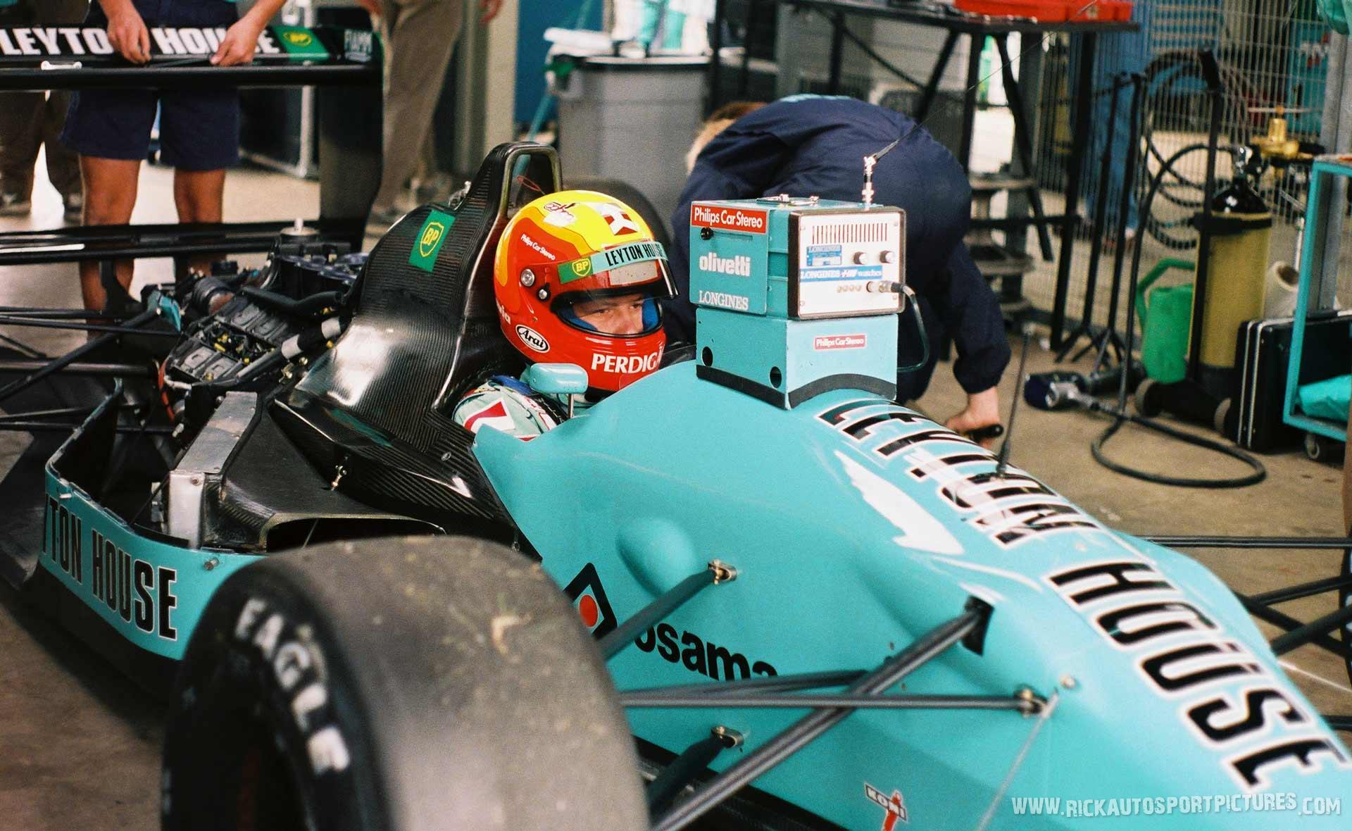 Mauricio Gugelmin Silverstone 1989