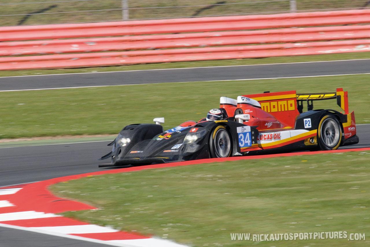 Franck Mailleux ELMS Silverstone 2014