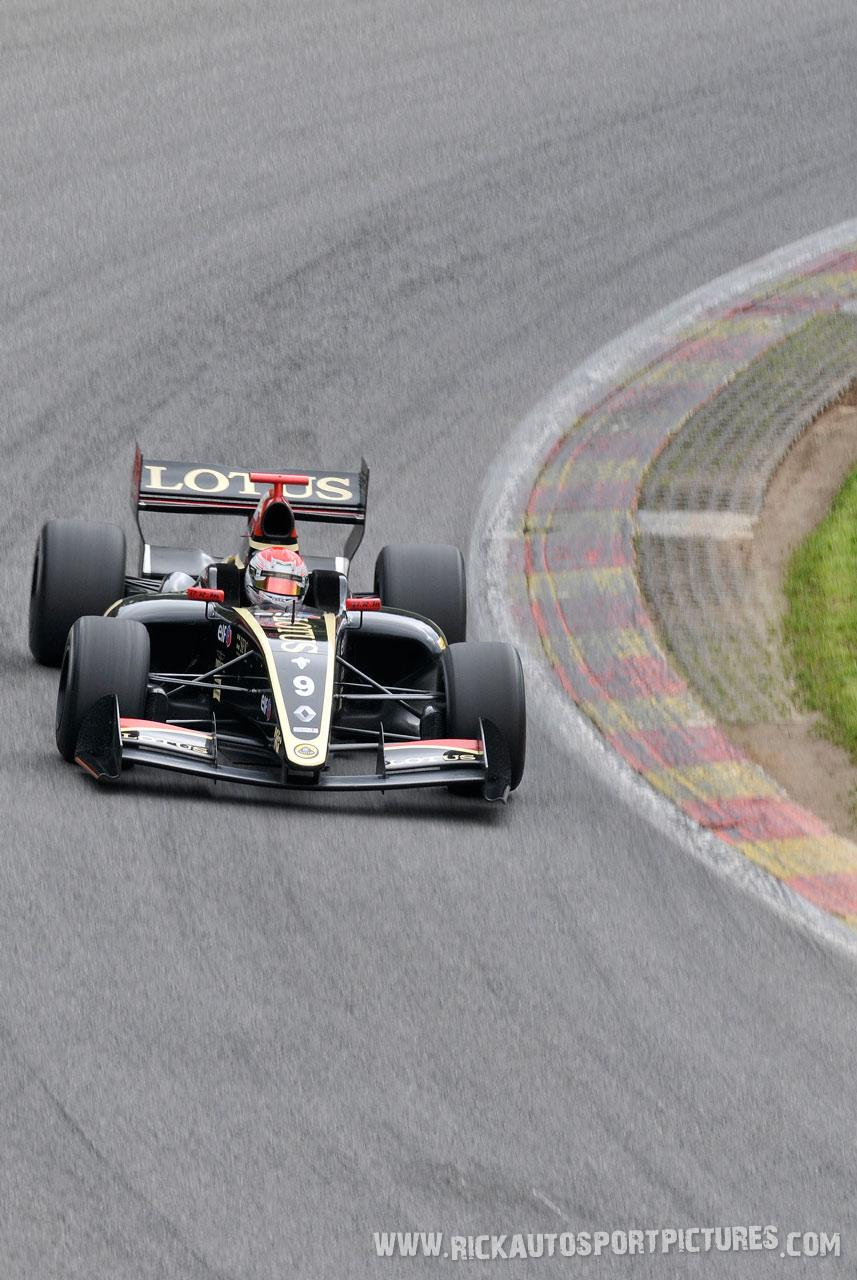 Marco sorensen renault series spa 2013