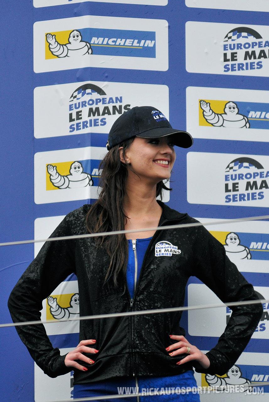 podium girl elms 2013