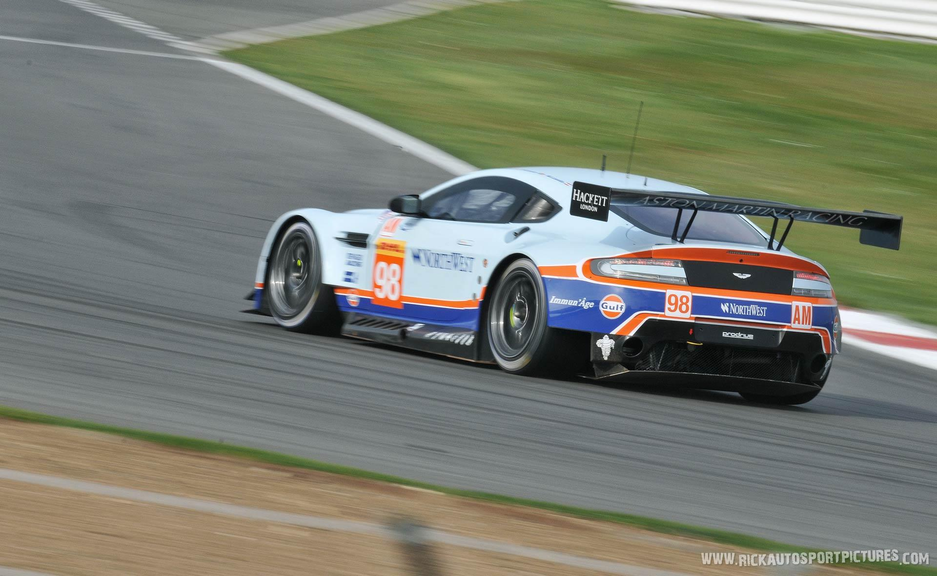 Aston Martin Racing WEC silverstone 2015