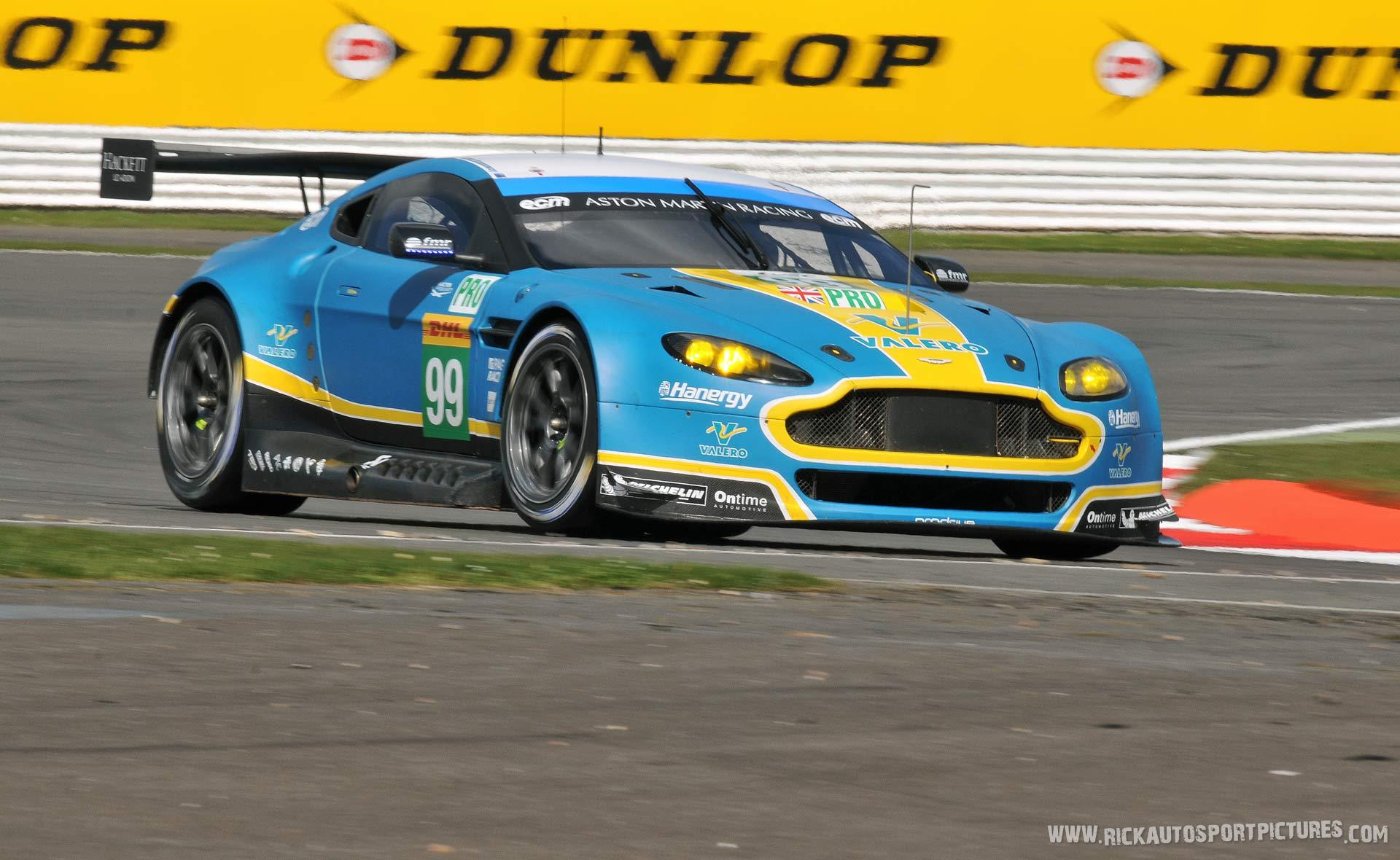 Aston Martin Racing Vantage wec silverstone 2015
