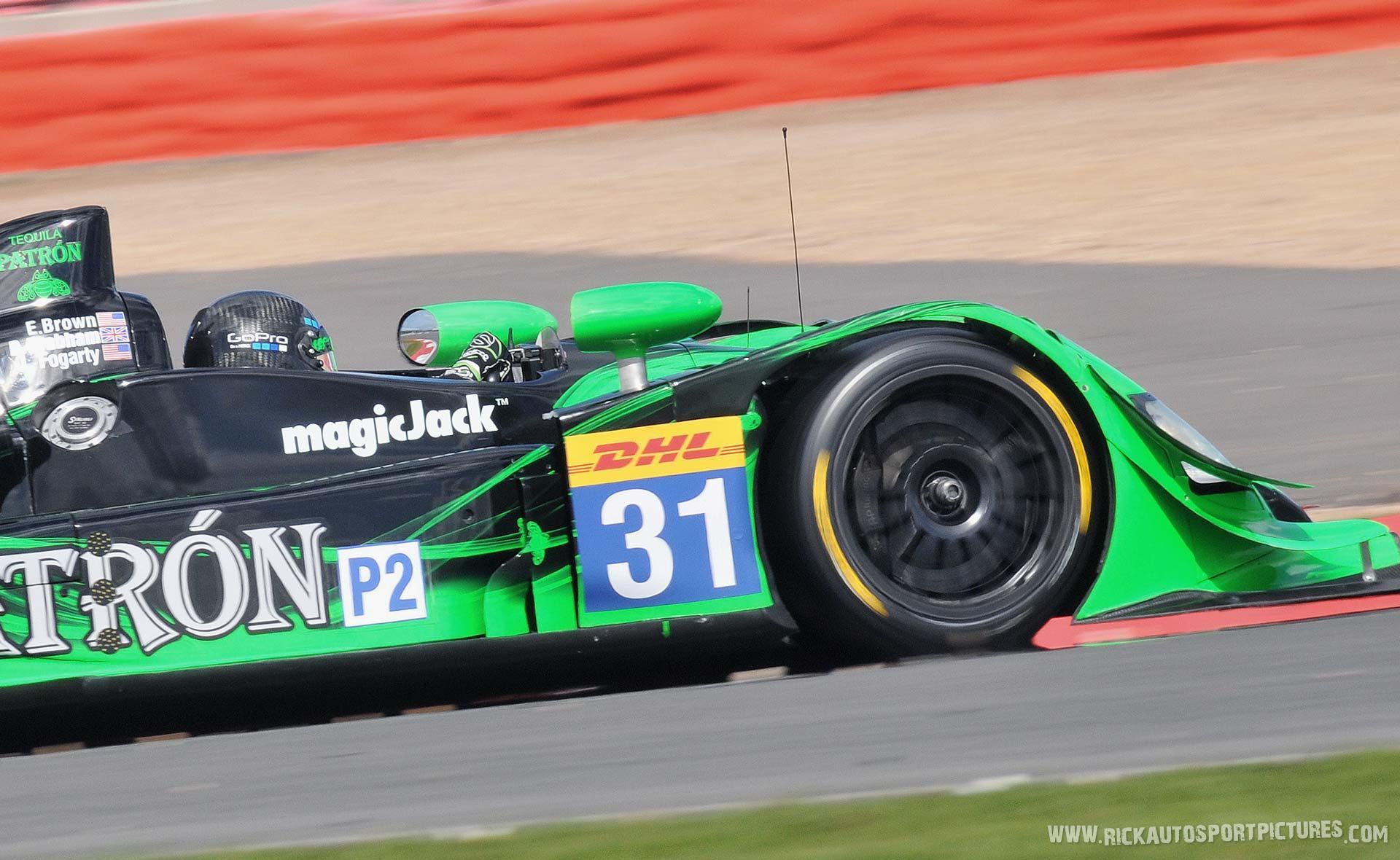 Jon Fogarty WEC Silverstone 2015
