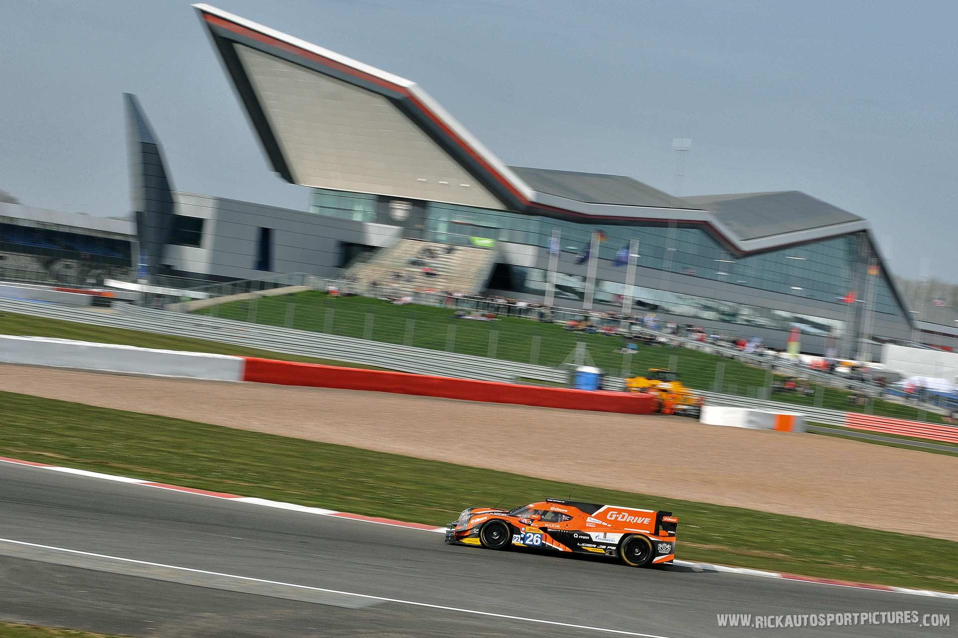 Roman Rusinov G-Drive WEC Silverstone 2015