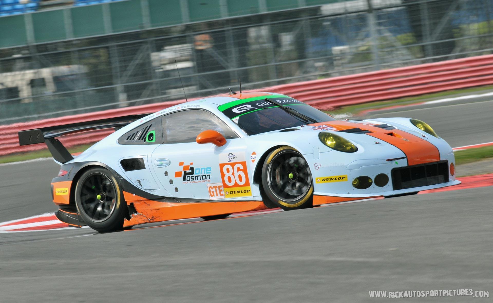Gulf Racing UK porsche 2015
