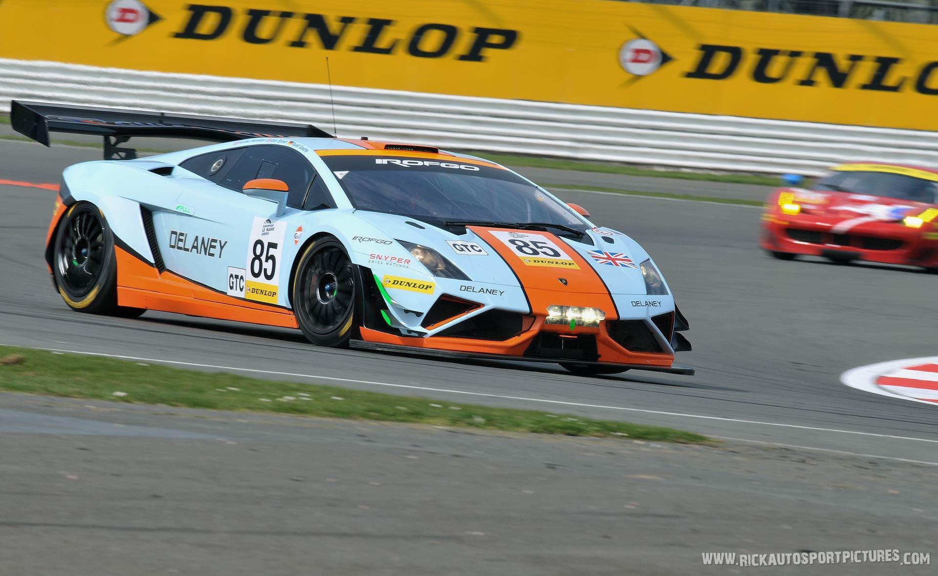 Gulf Racing UK Lambo 2015
