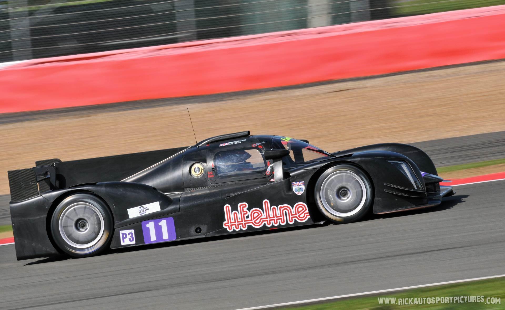 Charlie Hollings Lanan Racing Ginetta 2015