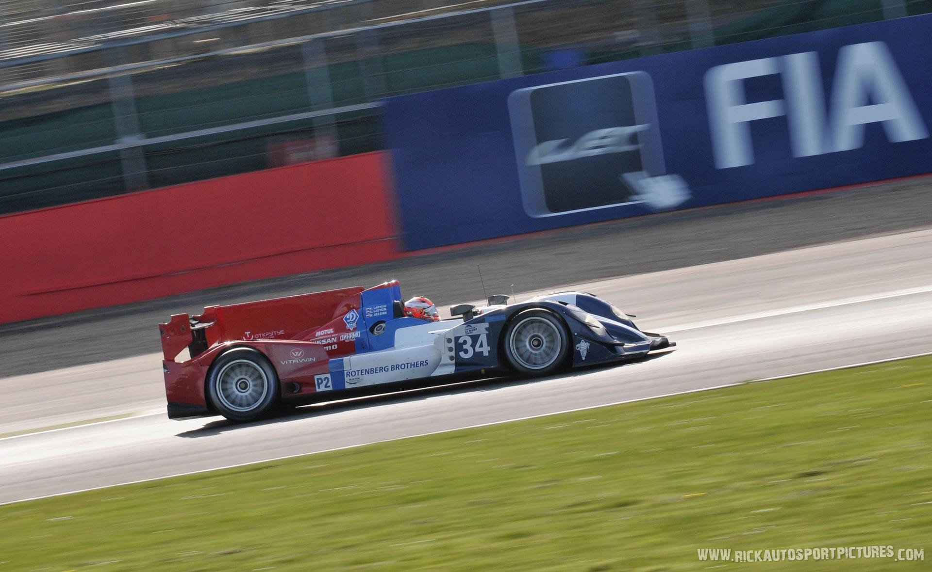 Kirill Ladygin Silverstone 2015