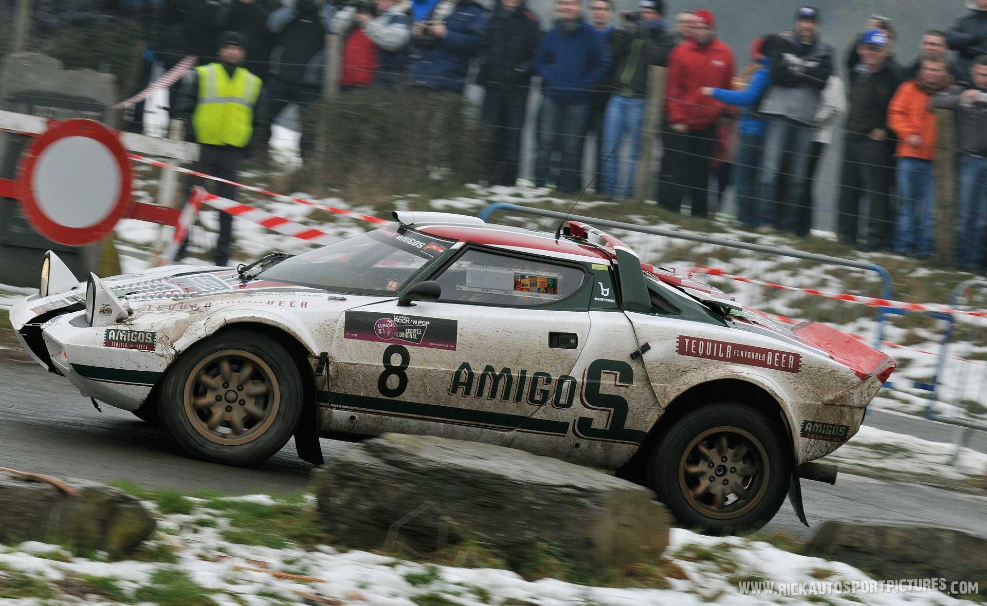 Steve Perez Lancia Stratos HF