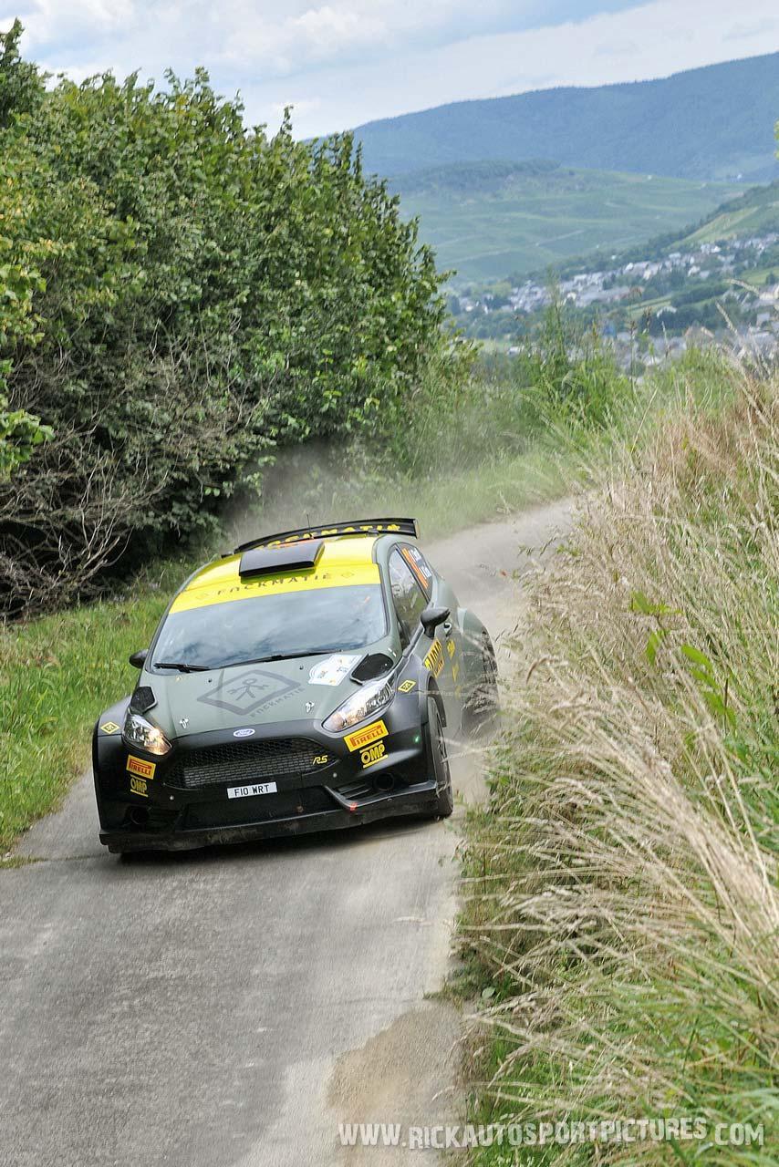 Lorenzo Bertelli Deutschland Rally 2014