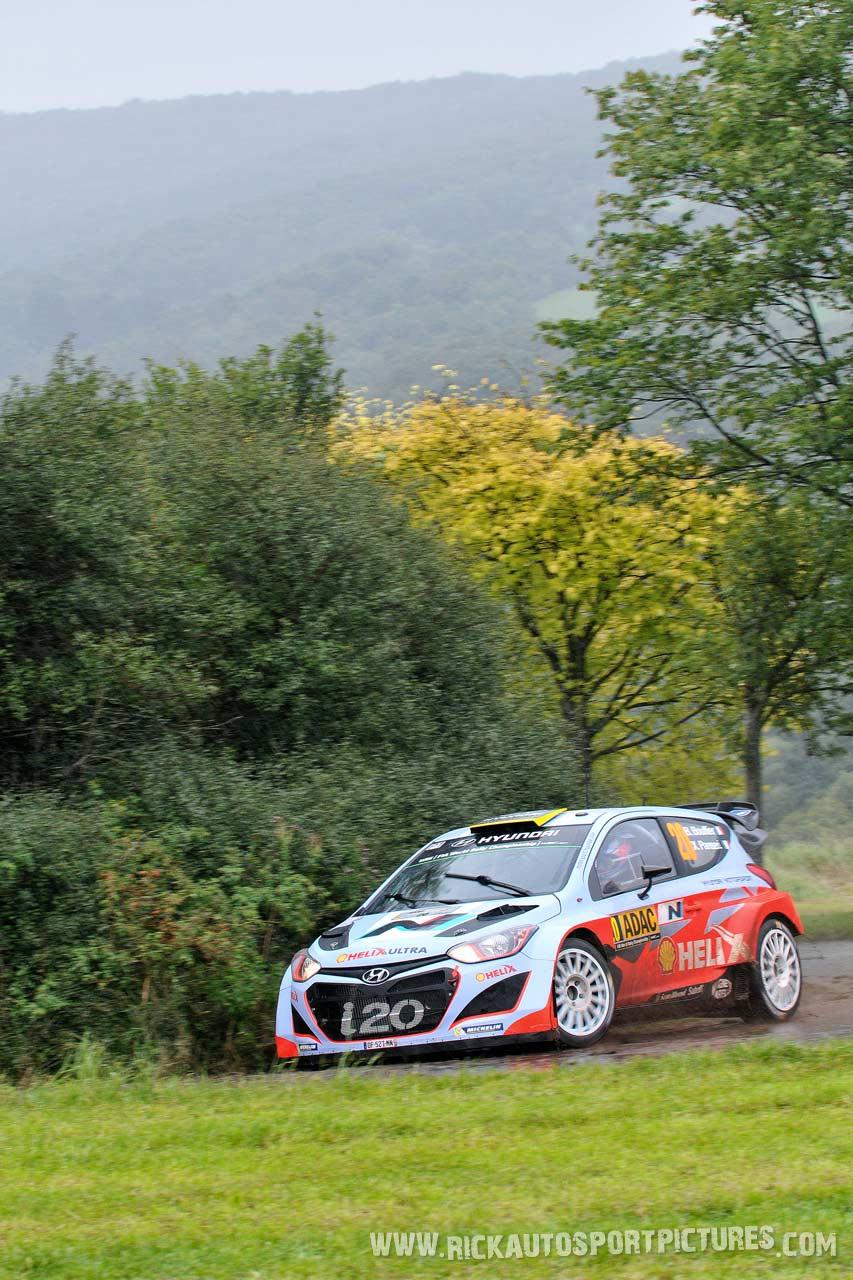 Bryan Bouffier Deutschland rally 2014