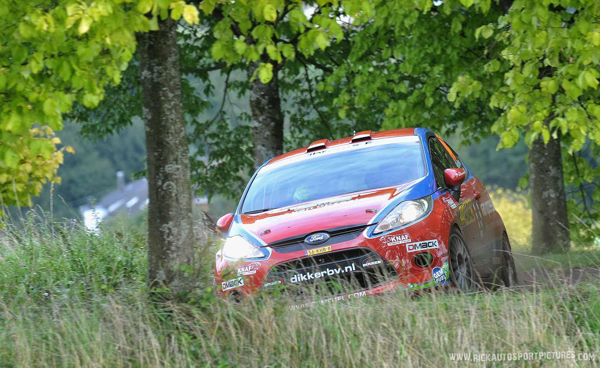 Mats van den Brand Deutschland Rally 2014