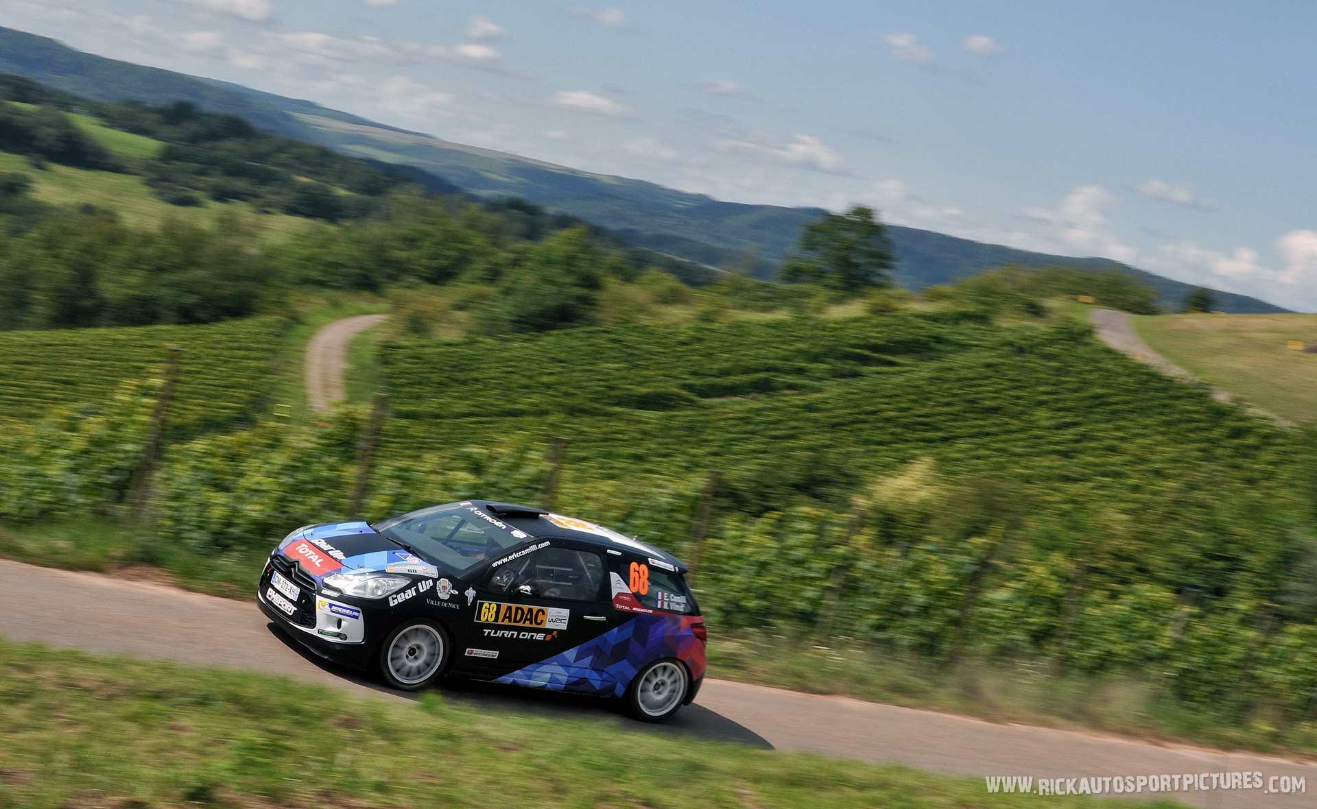 Eric Camilli Deutschland Rally 2014