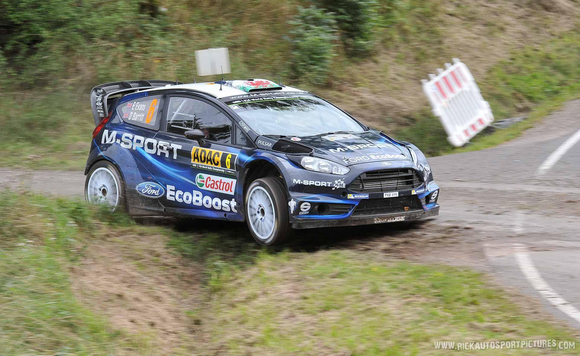 Elfyn Evans Deutschland rally 2014