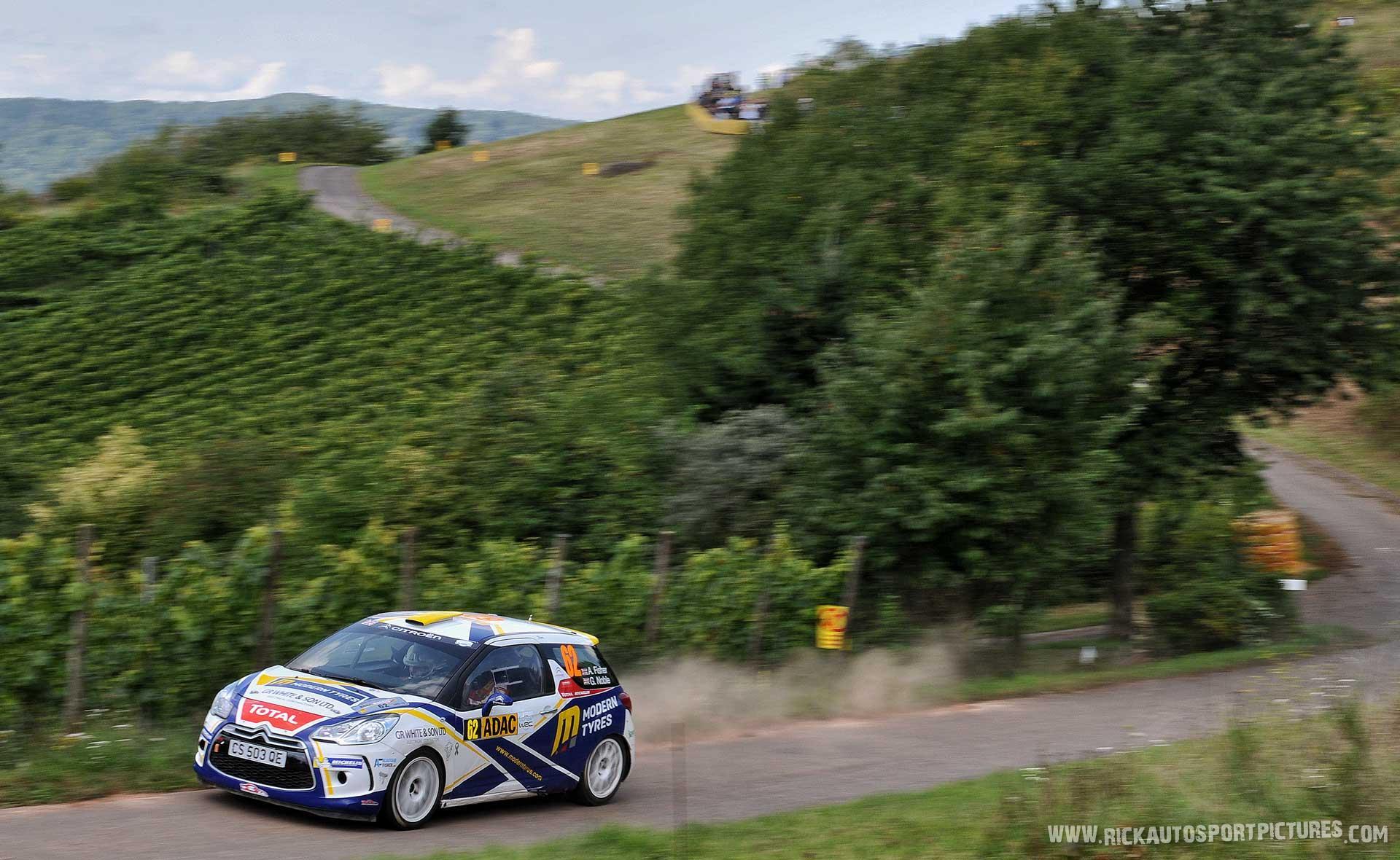 Alistair Fisher Deutschland Rally 2014