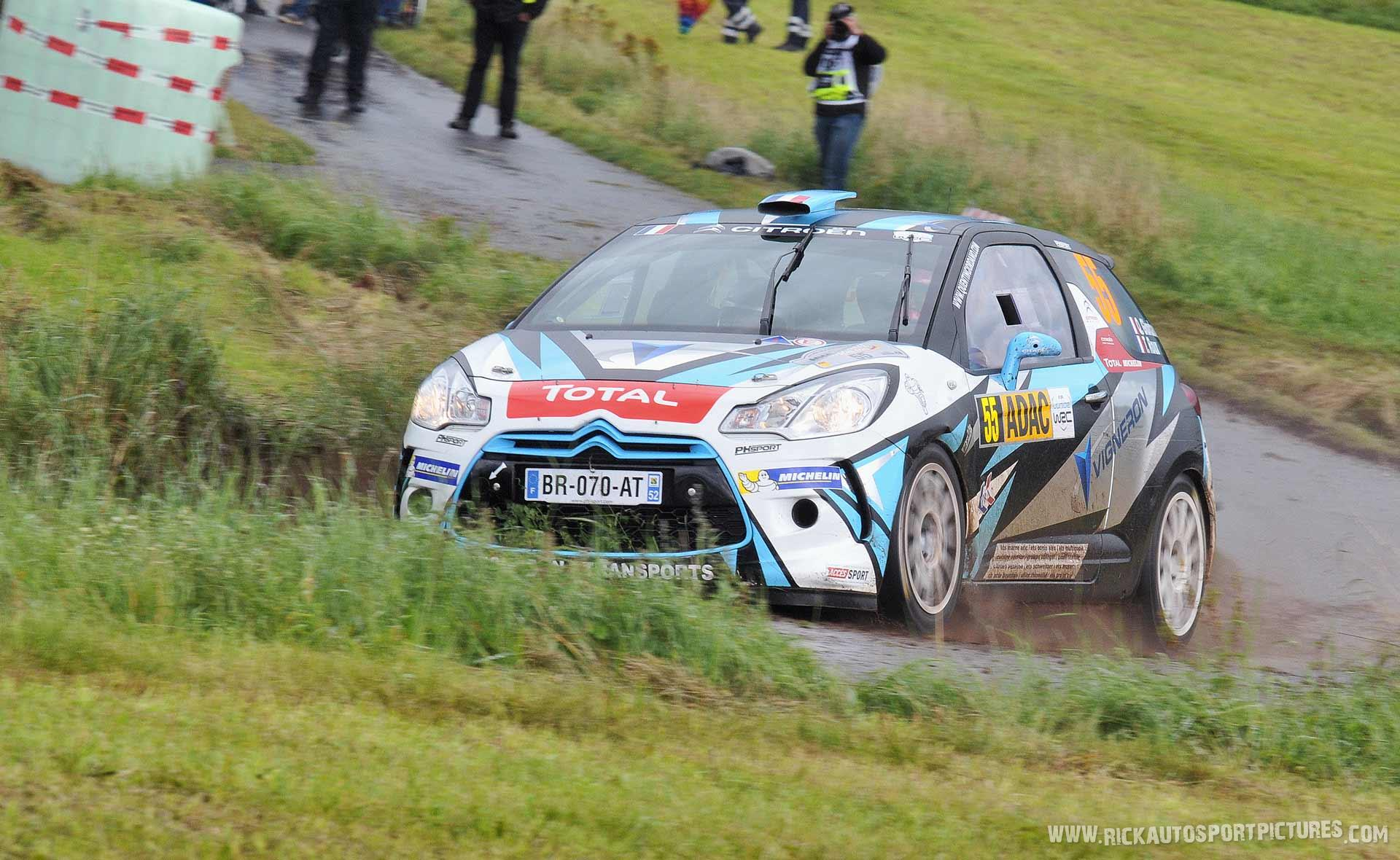 Quintin Giordano Deutschland Rally 2014