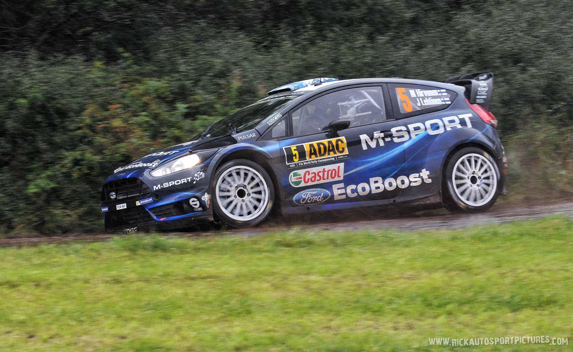 Mikko Hirvonen Deutschland Rally 2014